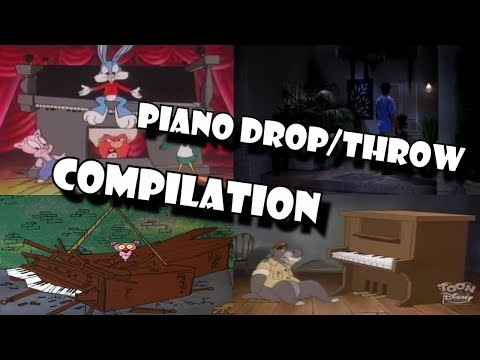 Piano Drop/Throw Compilation by AFX