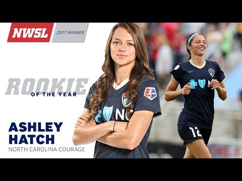 NWSL Rookie of the Year: Ashley Hatch, North Carolina Courage
