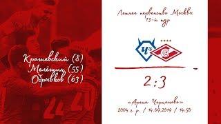 """""""Чертаново"""" - """"Спартак"""" (2004 г. р.) 2:3"""