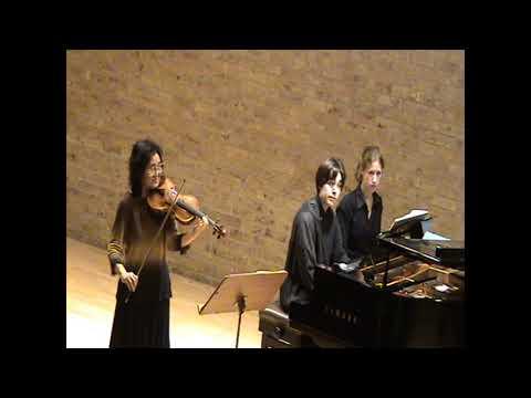 Mayumi Fujikawa & Oliver Markson play Mozart Violin Sonatas