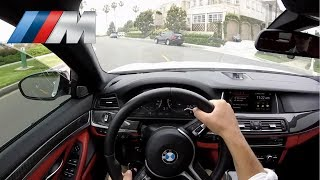 BMW M5 2016 POV Drive & Start Up 560HP V8 - BEAST CAR YouDrive
