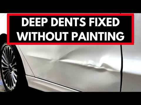 's Boring Car Body Dent Removal
