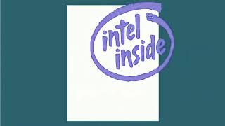 Intel Logo History in Pitch White