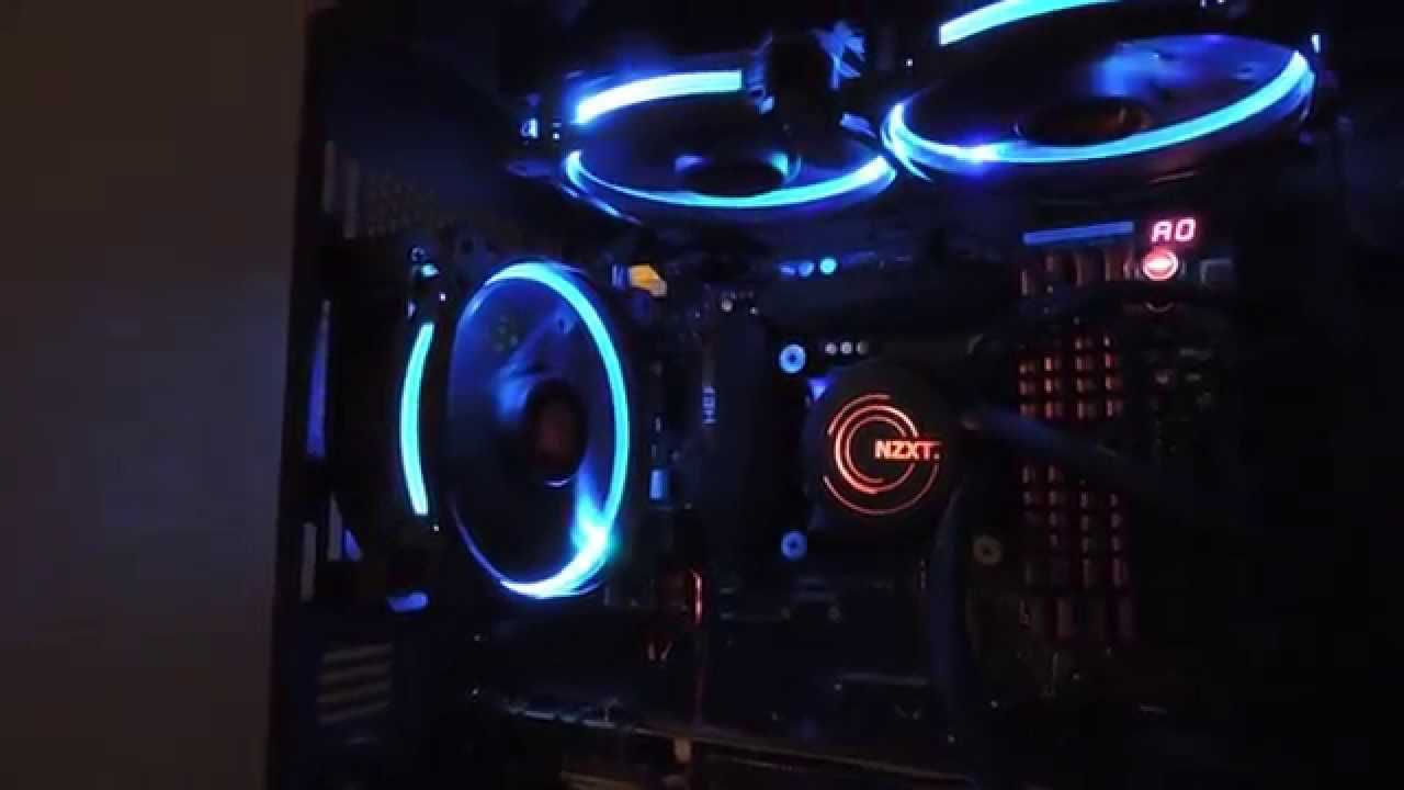 Thermaltake Riing 12 Rgb Triple Pack Youtube