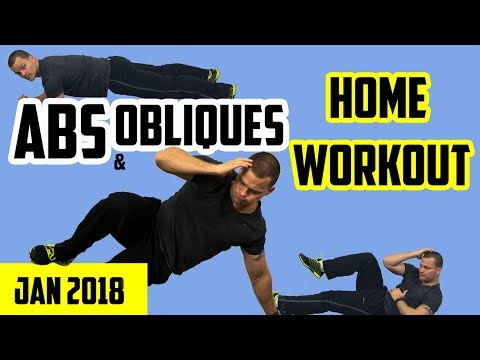 Ab Workout At Home 2018  💪  Upper Abs. Lower Abs. Oblique's (Abdominal Warriors)