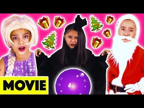 SANTA IS MISSING! 🎄 Mini Movie - Christmas Special 2017 🎁 Princesses In Real Life | Kiddyzuzaa
