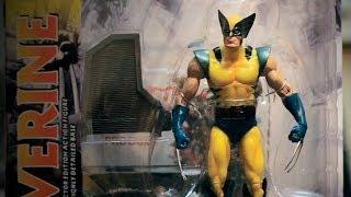 Розпакування фігурки Wolverine Marvel Select від Gikman