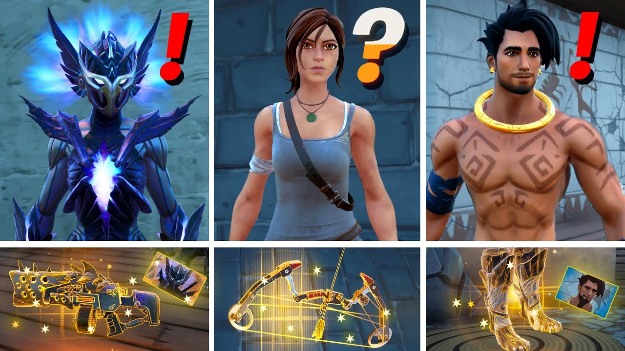 Download NEW Season 6 ALL BOSSES, MYTHIC WEAPONS, KEYCARD VAULT LOCATIONS! (Spire, Lara Croft, Raz, Tarana)