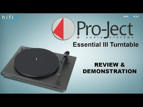 Project Essential III Turntable Review & Demonstration