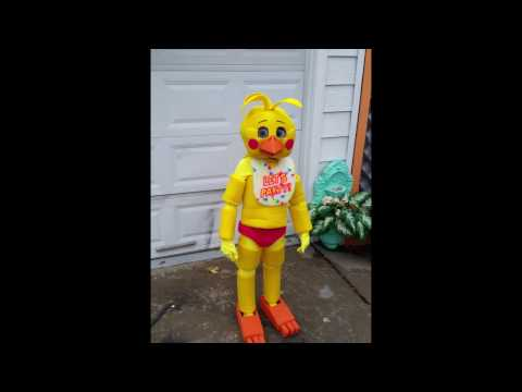 Five nights at freddy s toy chica costume cosplay youtube