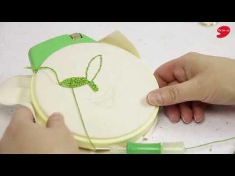 Technique De Broderie Au Poinon Punch Needle Punch Needle