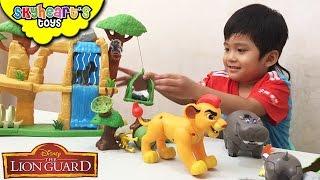 Lion Guard Defend the Pride lands Playset - Kion, Beshte, Simba Lion guard toys for kids