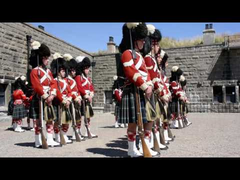 78th Highlanders ... A Squad and B Squad Inspection (August 2016)