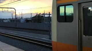 中央線快速電車 東京行電車高尾出発後 車内自動放送