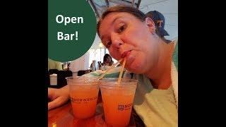 "Cabin & Sail Away ~ Day 1🍸 Norwegian Sky ""Open Bar"" Cruise Vlogs [ep2]"