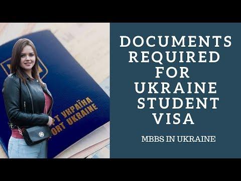 Documents Required for Ukraine Student Visa   MBBS in UKraine