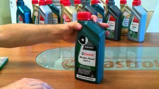 Тормозная жидкость Castrol Brake Fluid DOT4