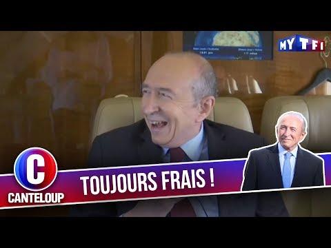 """Imitation de Gérard Collomb - """"Je me suis endormi..."""" - C'est Canteloup"""