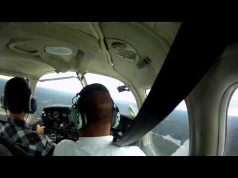 Entire Flight Lesson: Dead Reckoning and Uncontrolled Airports - 10/03/2011