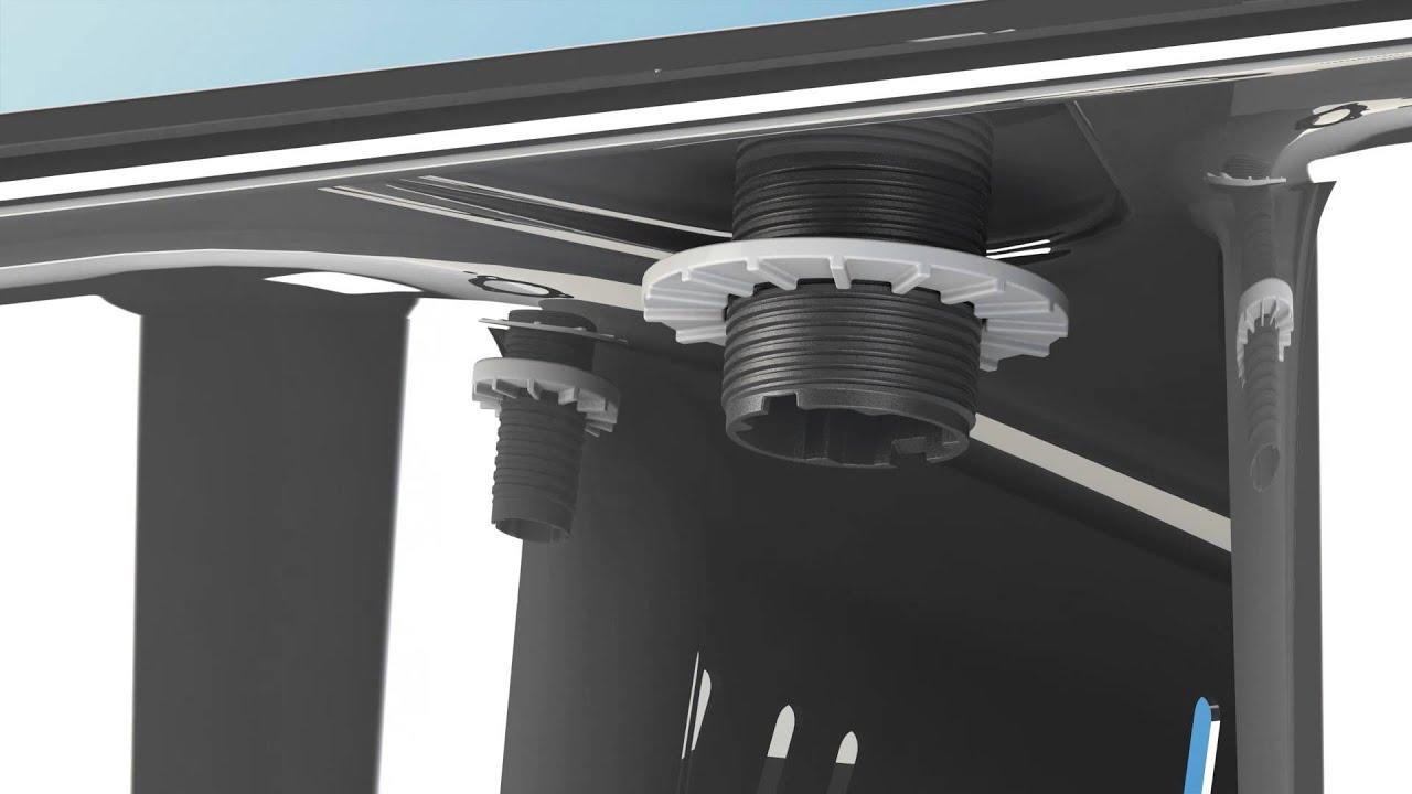 FRANKE Fast System il nuovo sistema brevettato Franke di montaggio del  miscelatore da cucina