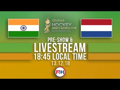 India V Netherlands | 2018 Men's Hockey World Cup | FULL MATCH LIVESTREAM