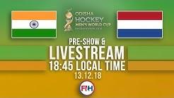 India v Netherlands   2018 Men's Hockey World Cup   FULL MATCH LIVESTREAM
