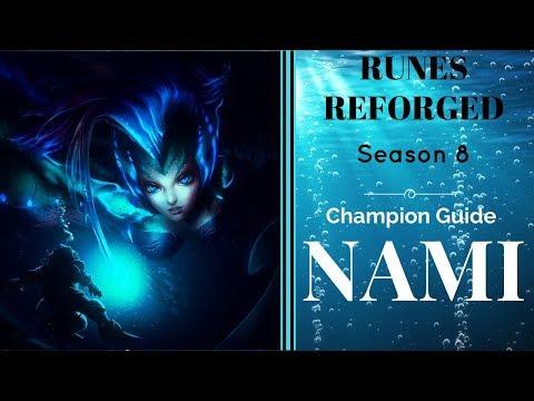 Season 8 NAMI Champion GUIDE w/RUNES REFORGED
