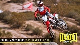 First Impressions: 2019 Honda CRF250RX