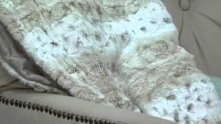 Dennis Basso Faux Fur Overnight Bag with 32 quot x60 quot  Lap Throw ... d2d0e2b4c596a
