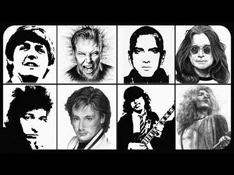 Обзор - Живые легенды. Metallica, Eminem, Black Sabbath, Led Zeppelin, Pink Floyd и т.д.