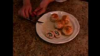 Cooking With Johni - Chicken Kiev Roll-ups