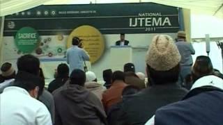 Report: National Ijtima Khuddam-ul-Ahmadiyya United Kingdom (16-18 Sep 2011)