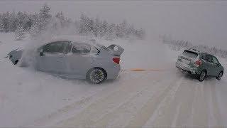 Subaru XV против WRX STI - часть 1