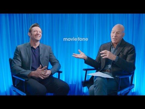 'Logan' | Unscripted | Hugh Jackman, Patrick Stewart