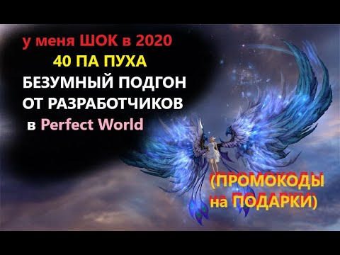 ШОК в 2020/40 ПА ПУХА/БЕЗУМНЫЙ ПОДГОН ОТ РАЗРАБОТЧИКОВ в Perfect World