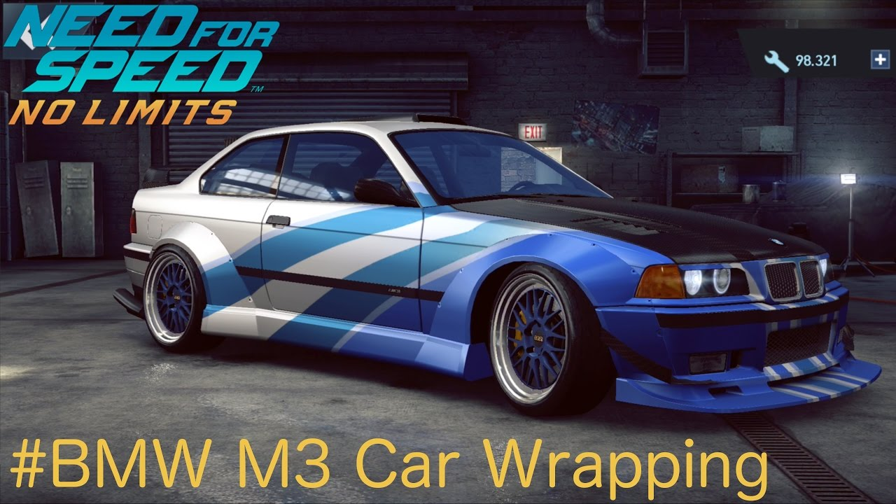 Bmw E36 M3 Car Wrapping Need For Speed No Limits Ios Gameplay