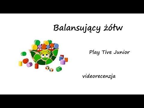 b136dbd08135 Balansujący żółw - Play Tive Junior z Lidla  videorecenzja