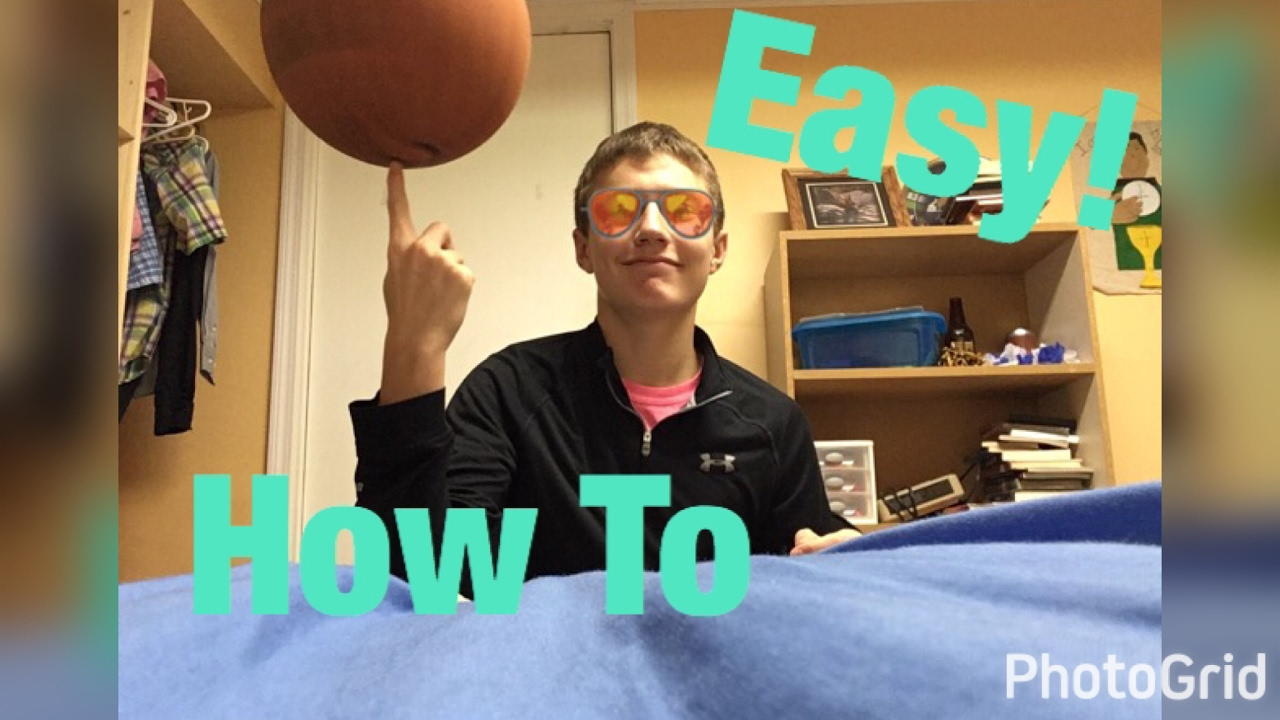 easy how to spin a basketball on your finger youtube