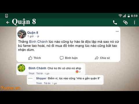 Cười rớt quai hàm với màn bình loạn cực hài hước của những quận HCM - Yume.vn