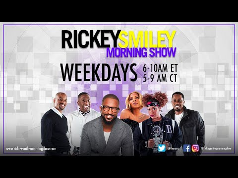 """Download Watch """"The Rickey Smiley Morning Show"""" Visuals On & Off The Air! (10/22/21)   RSMS"""