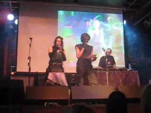 Караоке Виртуальная любовь, Пати Отто Дикс, Москва 26 06 09
