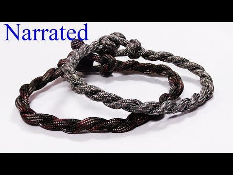 """Make A Super Simple Twisted Paracord Bracelet"" - WhyKnot"
