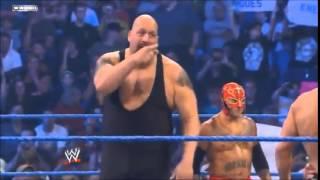 Rey Mysterio & Big Show Vs  Jack Swagger & Cody Rhodes