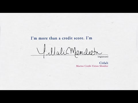 I'm more than a credit score. I'm Citlali.