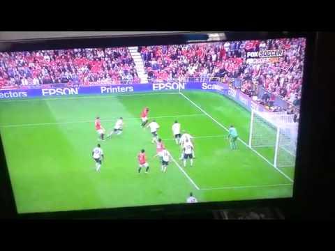 Manchester United Vs Fulham Rafael Goal