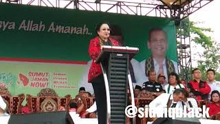 Kampanye Akbar No 2  Djarot - Sihar Di Stadion Baharudin Lubuk Pakam