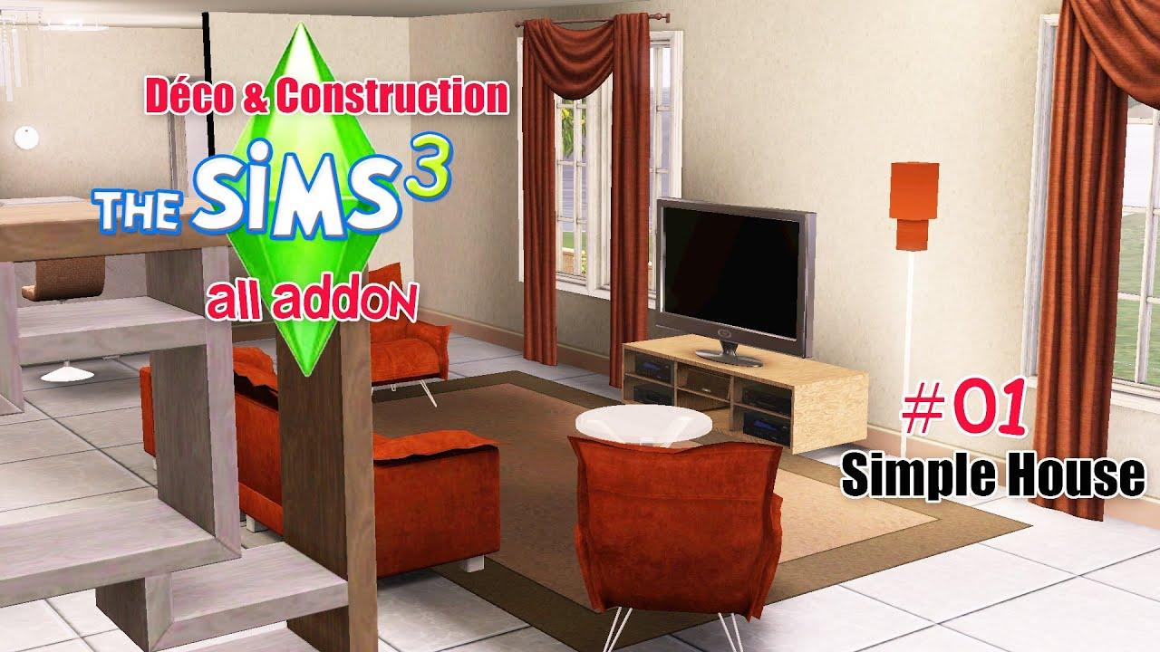 D co construction une simple maison 01 youtube for Maison simple