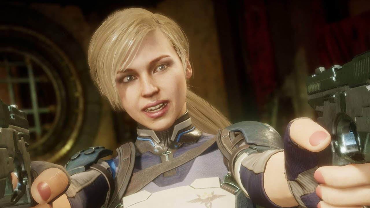 Mortal Kombat 11 - All Cassie Cage Interaction/Intro