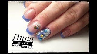 ❤ наращивание АКРИЛАТИК ❤ COSMOPROFI ❤ НОВОГОДНИЙ дизайн ногтей ❤ Дизайн ногтей гель лаком ❤