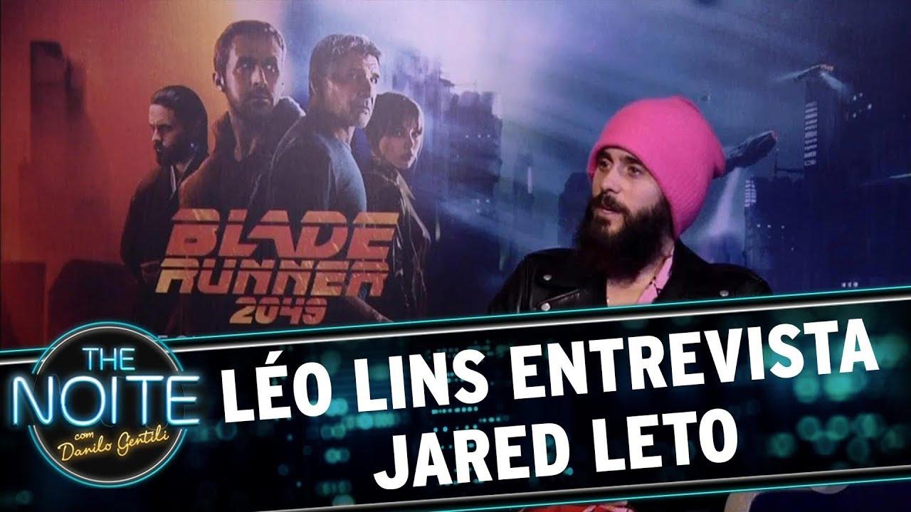 Léo Lins Entrevista Jared Leto, De Blade Runner 2049 The